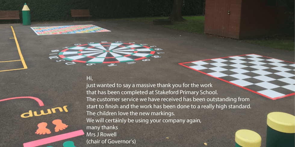 Playground Markings review for first4playgrounds