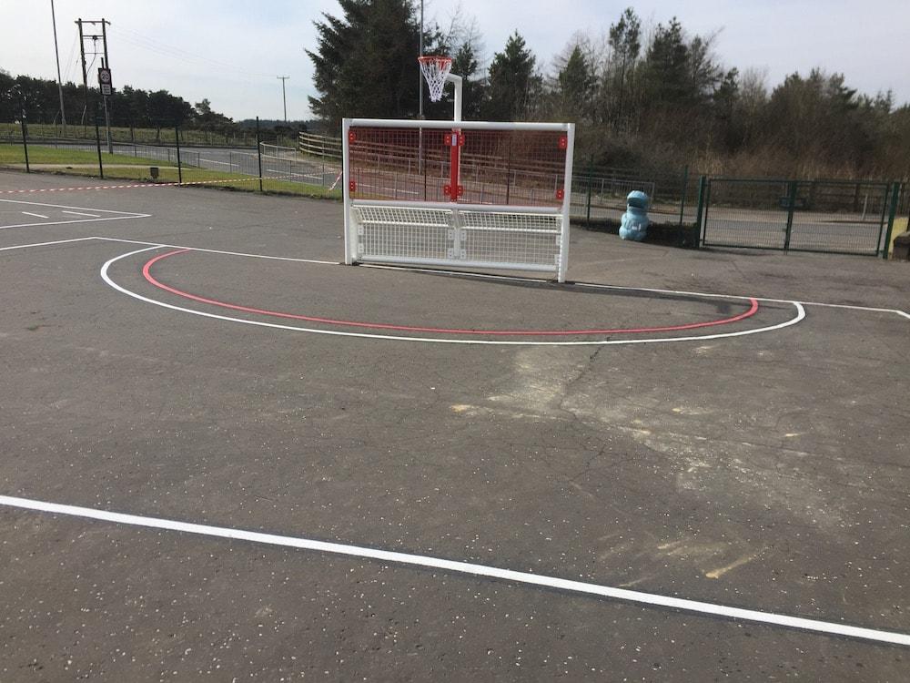 football goal end shotts-sasbrugh